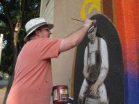 Artist Bill Diaz of Brewing in MN