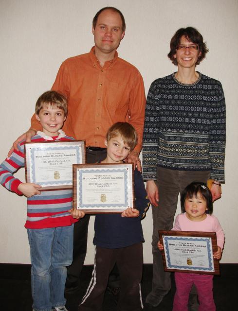 "Congratulations To ""Building Blocks"" Award Winners"