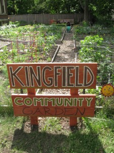 Kingfield's Pleasant Garden