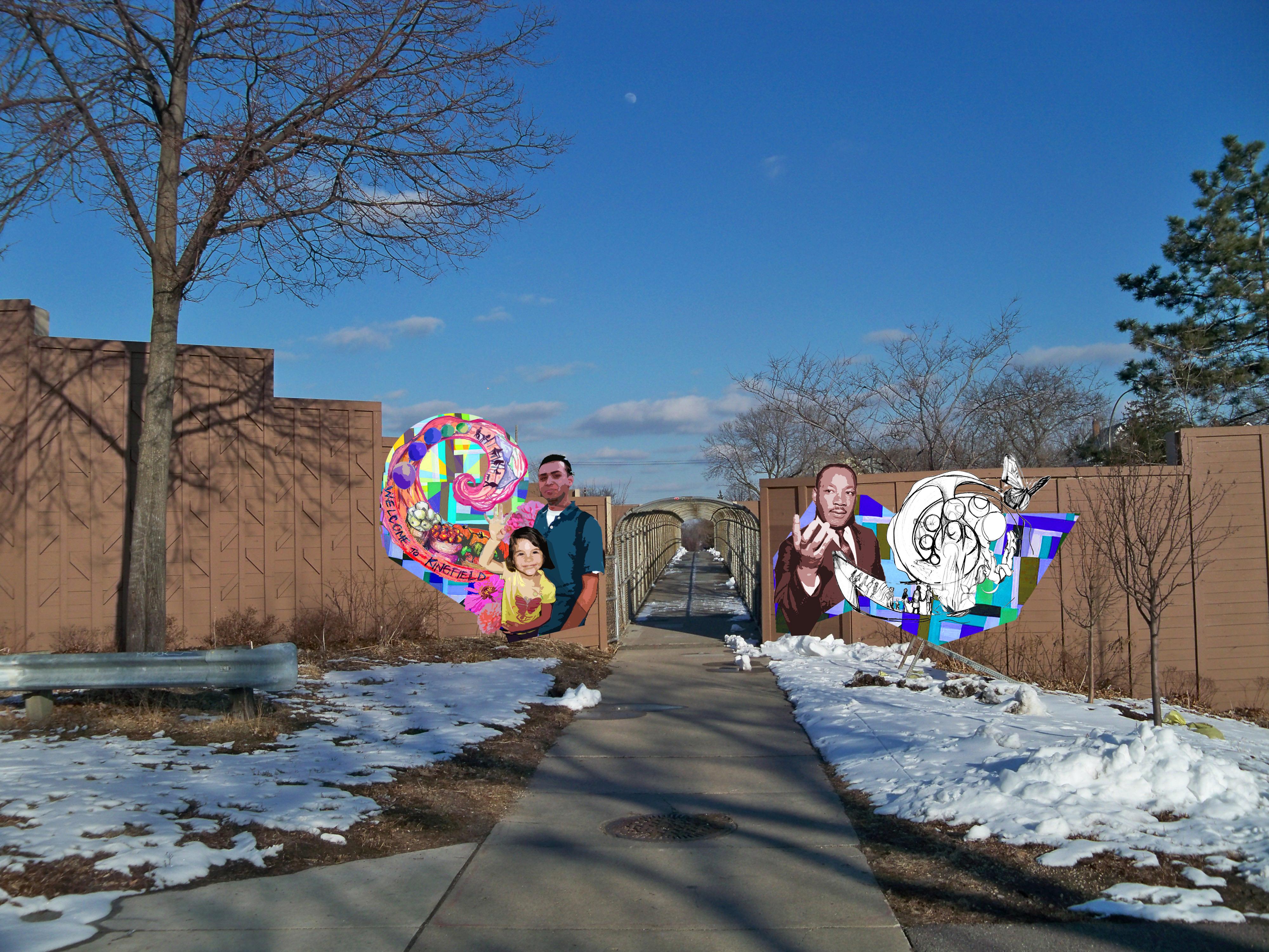 40th Street Gateway Mural