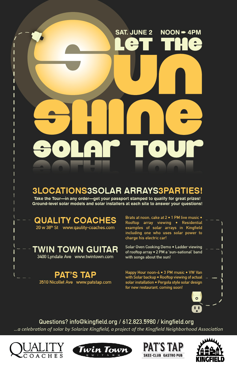 """Let the Sun Shine"" Solar Tour!"