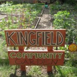 Kingfield's Pleasant Community Garden