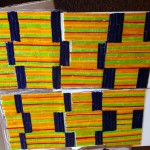 Kente Cloth Mosaic
