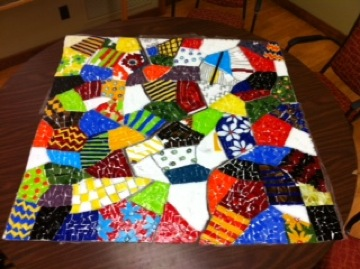 Mini mosaic quilting workshops scheduled for tuesdays in january