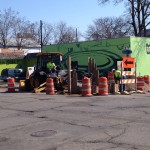 Nicollet Construction Begins