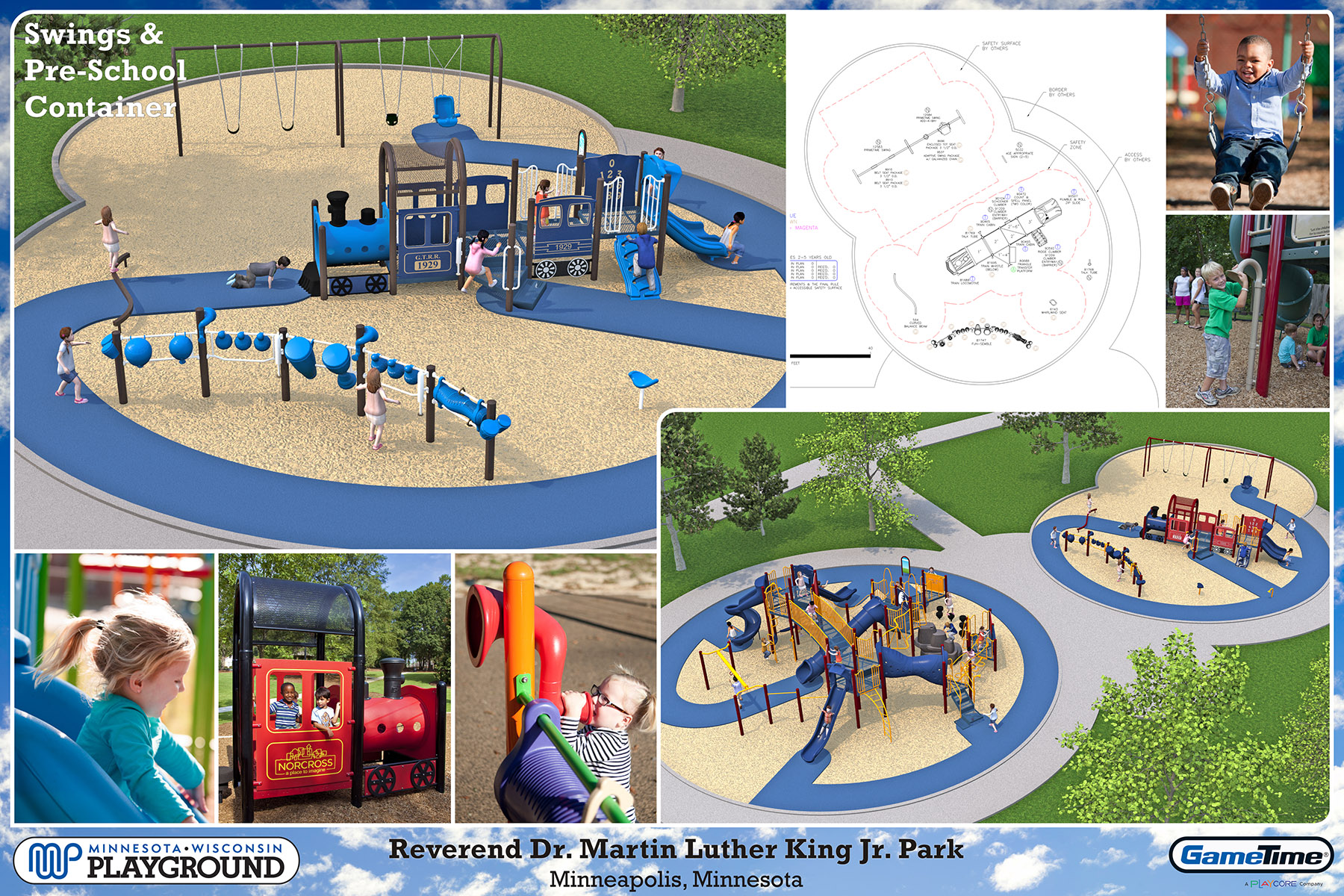 Playground Design #4: school age