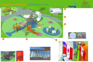 Playground Design #1 A and 1 B ElementaryArea