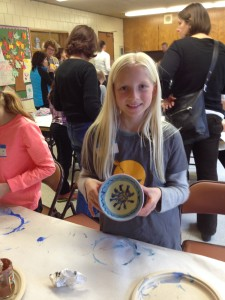 Paint-a-Bowl for Kingfield Empty Bowls 2014!