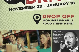 7th Annual MPLS Park Board Food Drive through January 18!  Benefits Nicollet Square & Aliveness Project