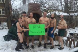 In an effort to raise funds for the Kingfield Community Outdoor Oven, the KFNA Board Bares Their Soul (and a few other body parts!)