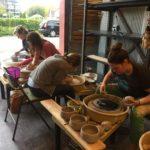 6 hours + 13 potters = 234 bowls!