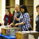 How do you feed 850 people in 4 hours? Volunteer Power!