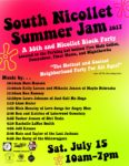 South Nicollet Summer Jam on Saturday, July 15, 10am-7pm