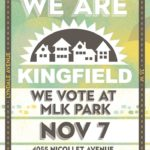 Kingfield Votes Polling Party: Just 1 Week From Today!