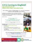 4-H Youth Development at MLK Park Thursday, 12/7/2017