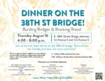 Building Bridges and Breaking Bread: a sit-down dinner over 35W