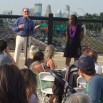 Breaking Bread on the 38th Street Bridge