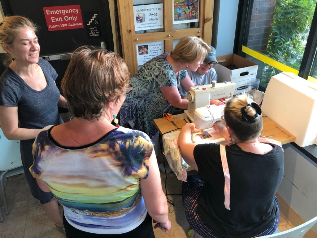 Boomerang Bags monthly sewing bees